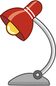 Desk lamp clipart