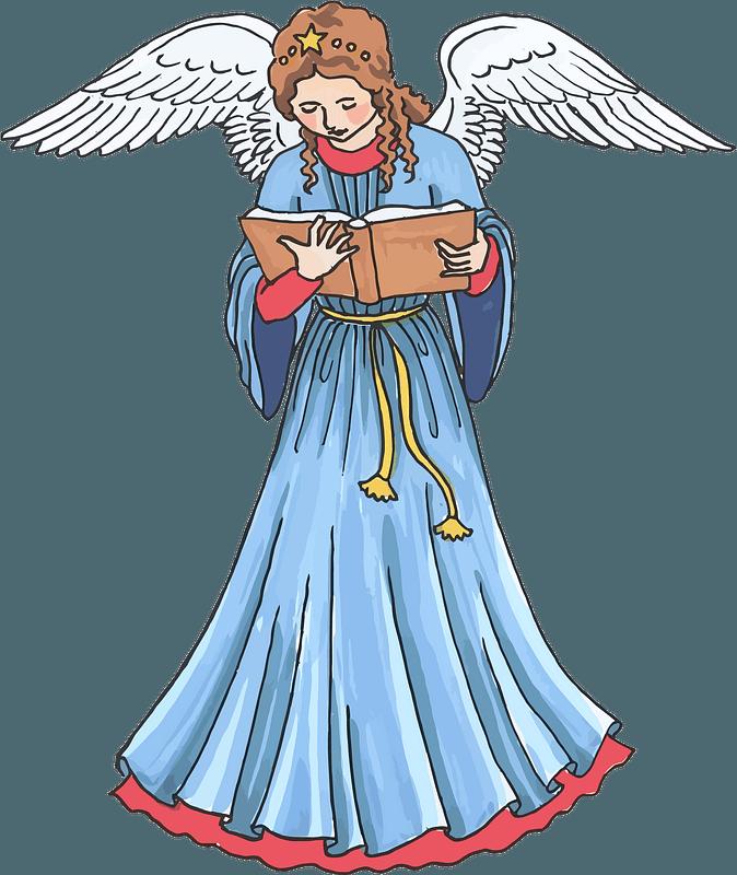 Christmas Angel Clipart Free Download Transparent Png Creazilla