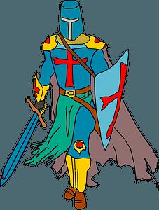 Crusader clipart