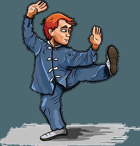 Martial arts clipart