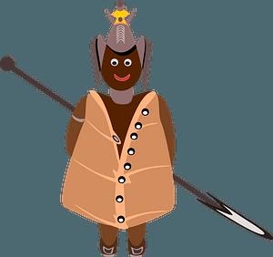 Aboriginal warrior clipart