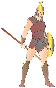 Spartan Warrior clipart