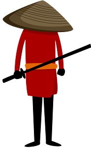 Samurai clipart