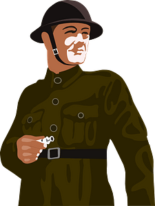 Soldier clipart