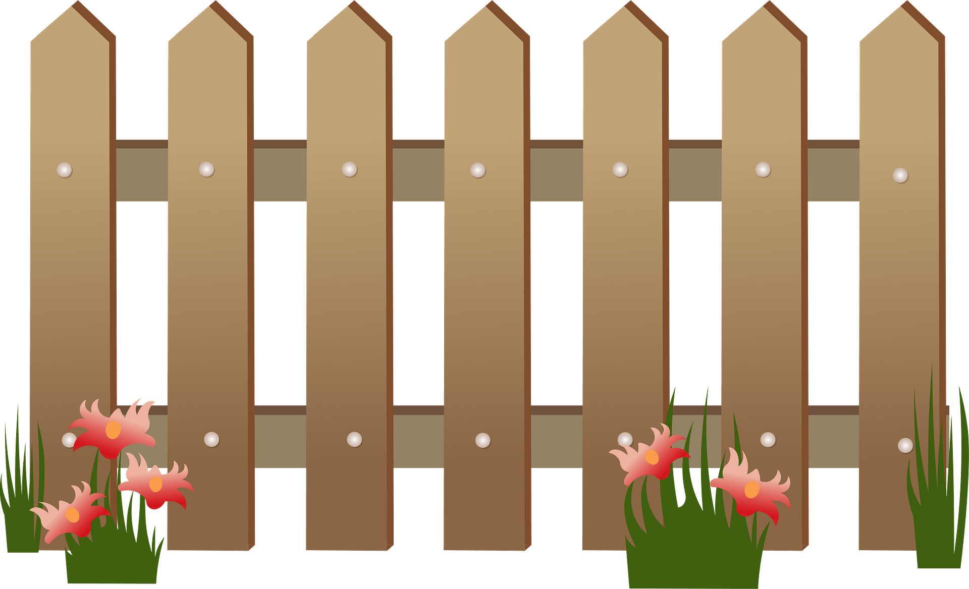 Fence Flower Garden Clip Art, PNG, 600x600px, Fence, Flower Garden,  Flowerpot, Garden, Garden Design Download Free