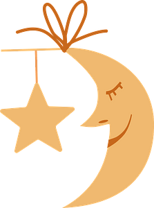 Moon and Star clipart