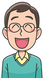 Laughing man clipart