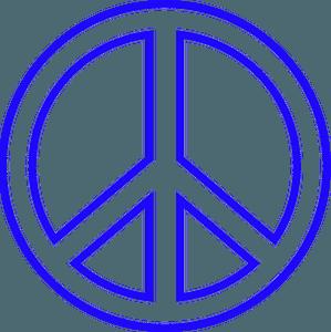 Peace symbol clipart
