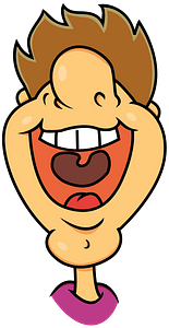 Laughing guy clipart