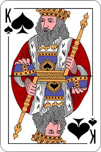 Adolf Charlemagne Russian Playing Cards