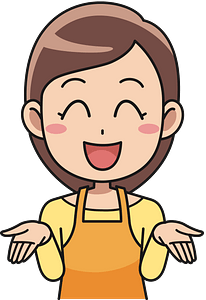 Laughing woman clipart