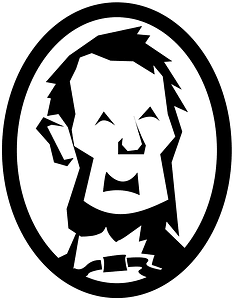 Abraham Lincoln caricature clipart