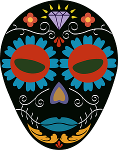 Abstract Mask clipart