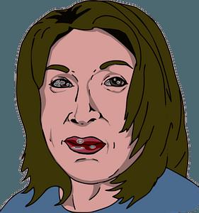 Cherokee woman face clipart