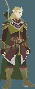 Elve Man clipart
