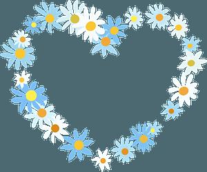 Floral Heart кліпарт