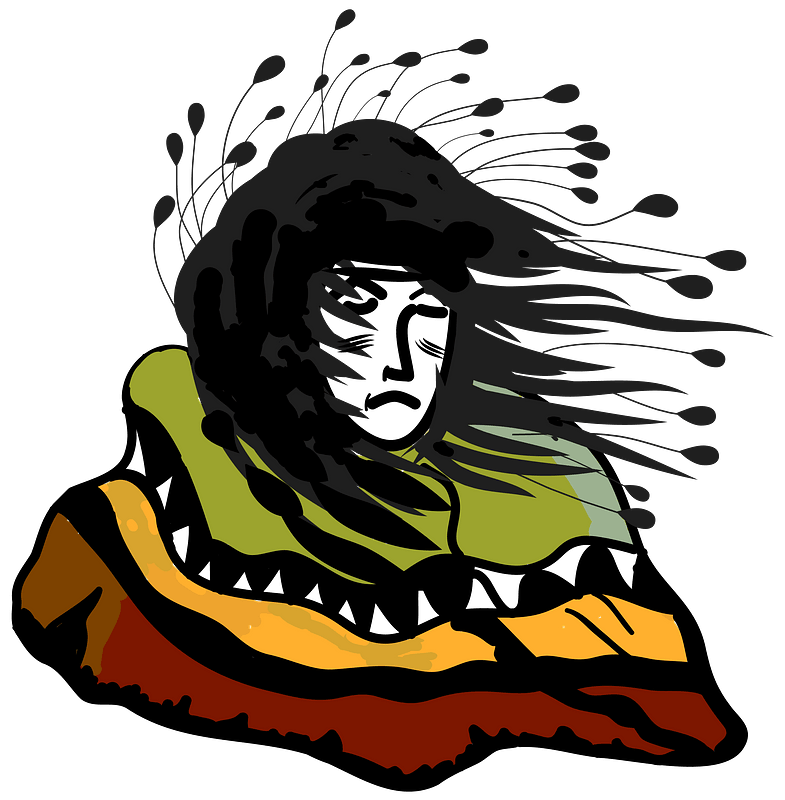 Artistic image of Native American clipart