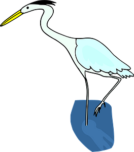 Crane bird clipart