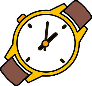Wrist watch clipart