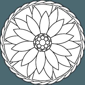 Mandala clipart