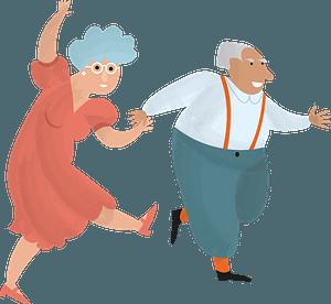 Клипарт Senior citizens