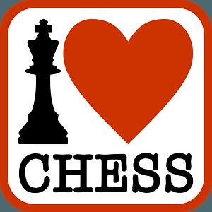 I love chess clipart