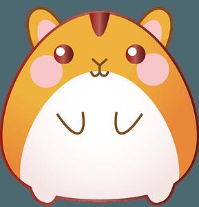 Chibi Hamster clipart