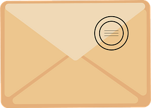 Addressed envelope clipart