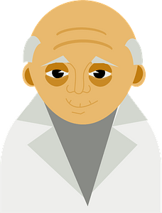 Old man clipart
