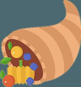 Cornucopia clipart