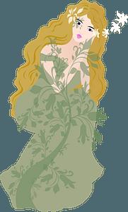 Greek Mythology Vegetation Tree clipart