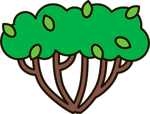 Bush clipart