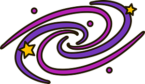 Galaxy clipart