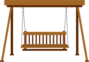 Porch swing clipart