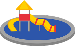 Water slide clipart