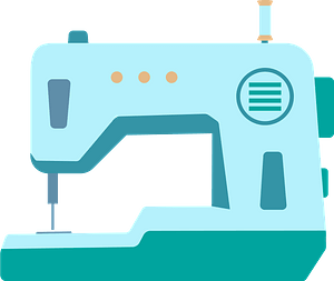 Sewing machine clipart