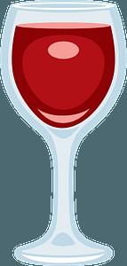 Wine glass clipart