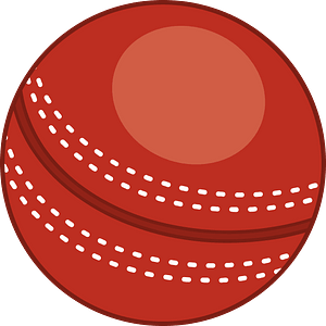 Cricket ball clipart