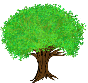 Big tree clipart