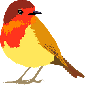 Little bird clipart