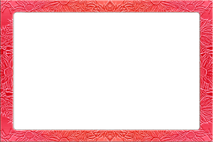Red frame clipart