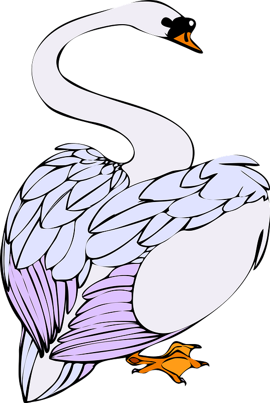 Flying Swan Clipart | Free Images at Clker.com - vector clip art online,  royalty free & public domain