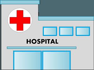 Hospital icon clipart