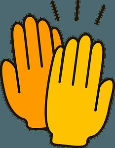 High five clipart