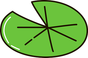 Lily pad clipart