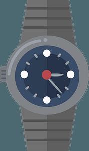 Wrist watch clipart