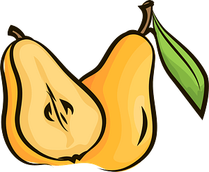 Pears clipart