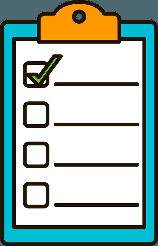List clipart