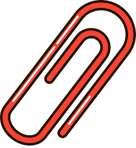 Paperclip clipart