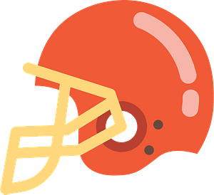 Football helmet кліпарт